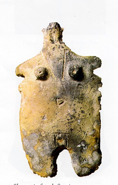Shengavit female figurine