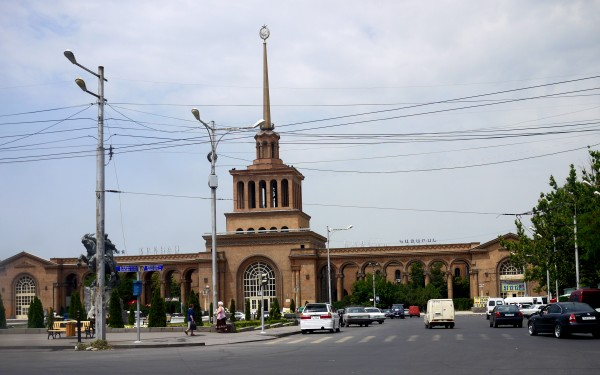 Yerevan rail station 666